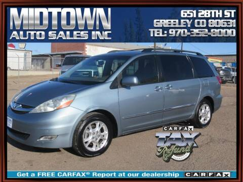 2006 Toyota Sienna for sale at MIDTOWN AUTO SALES INC in Greeley CO