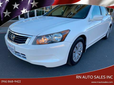 2009 Honda Accord for sale at RN Auto Sales Inc in Sacramento CA