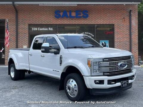 2017 Ford F-450 Super Duty for sale at Michael D Stout in Cumming GA