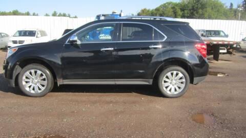 2011 Chevrolet Equinox for sale at Pepp Motors - Superior Auto in Negaunee MI