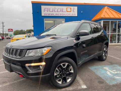 2018 Jeep Compass for sale at AUTOLOT in Bristol PA