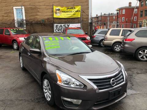 2013 Nissan Altima for sale at James Motor Cars in Hartford CT