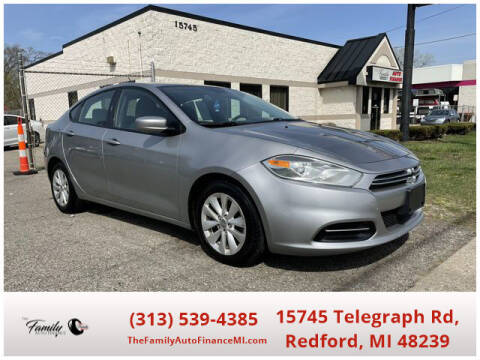 2014 Dodge Dart for sale at The Family Auto Finance in Redford MI