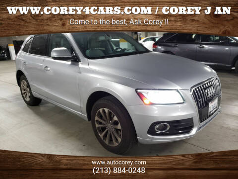 2015 Audi Q5 for sale at WWW.COREY4CARS.COM / COREY J AN in Los Angeles CA