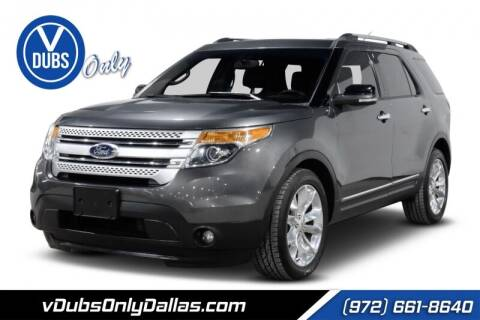 2015 Ford Explorer for sale at VDUBS ONLY in Dallas TX