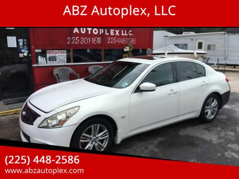 2011 Infiniti G37 Sedan for sale at ABZ Autoplex, LLC in Baton Rouge LA