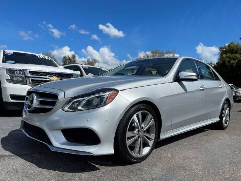 2014 Mercedes-Benz E-Class for sale at Upfront Automotive Group in Debary FL