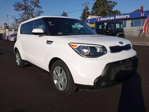 2015 Kia Soul for sale at All American Motors in Tacoma WA