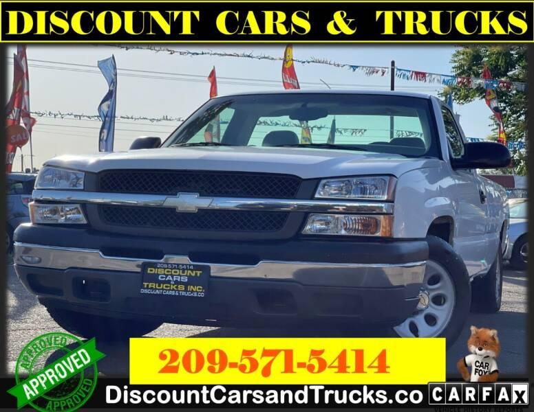 2005 Chevrolet Silverado 1500 for sale at Discount Cars & Trucks in Modesto CA