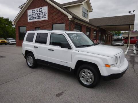 2012 Jeep Patriot for sale at C & C MOTORS in Chattanooga TN