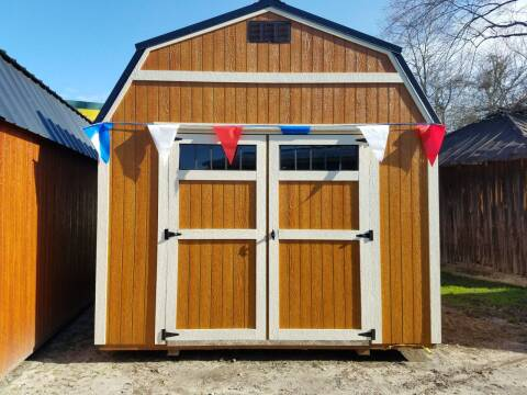 Z.... 10X16 WOODEN BUILDING lofted for sale at Rocky Mount Motors in Battleboro NC