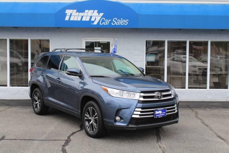 2018 Toyota Highlander for sale at Thrifty Car Sales Westfield in Westfield MA