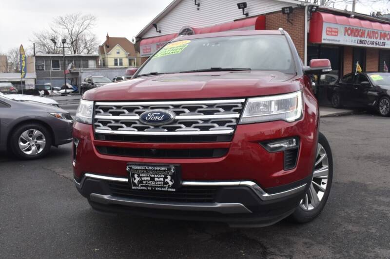 2019 Ford Explorer for sale at Foreign Auto Imports in Irvington NJ