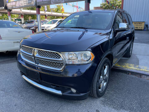 2011 Dodge Durango for sale at Gallery Auto Sales in Bronx NY