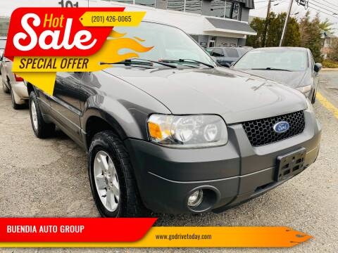 2005 Ford Escape for sale at BUENDIA AUTO GROUP in Hasbrouck Heights NJ