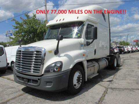 2017 Freightliner Cascadia for sale at BROADWAY FORD TRUCK SALES in Saint Louis MO