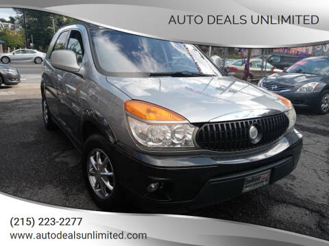 2003 Buick Rendezvous for sale at AUTO DEALS UNLIMITED in Philadelphia PA