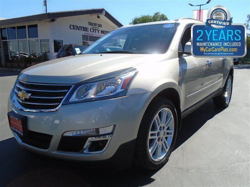 2015 Chevrolet Traverse for sale at Centre City Motors in Escondido CA