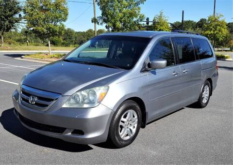 2006 Honda Odyssey for sale at memar auto sales, inc. in Marietta GA