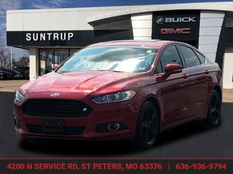 2016 Ford Fusion for sale at SUNTRUP BUICK GMC in Saint Peters MO