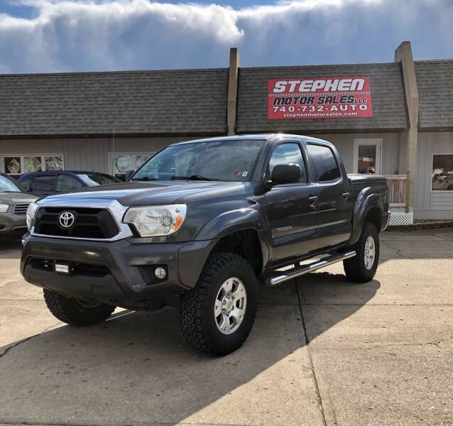 2012 Toyota Tacoma for sale at Stephen Motor Sales LLC in Caldwell OH