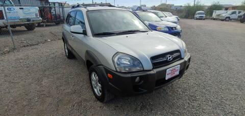 2007 Hyundai Tucson for sale at ACE AUTO SALES in Lake Havasu City AZ