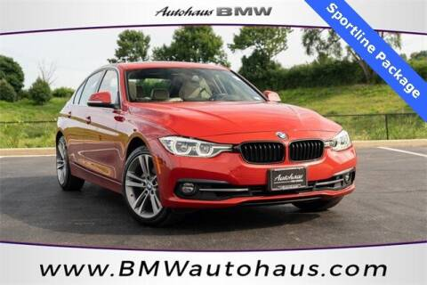2018 BMW 3 Series for sale at Autohaus Group of St. Louis MO - 3015 South Hanley Road Lot in Saint Louis MO