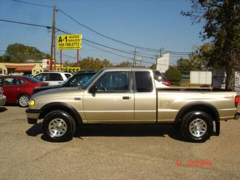 1999 Mazda B-Series Pickup for sale at A-1 Auto Sales in Conroe TX