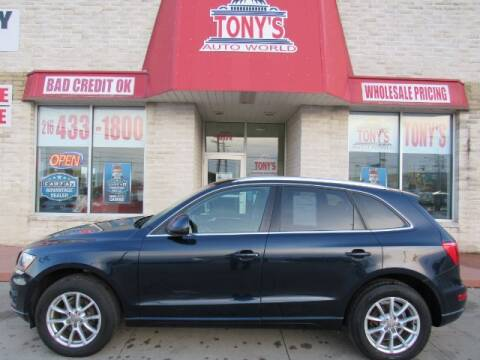 2010 Audi Q5 for sale at Tony's Auto World in Cleveland OH