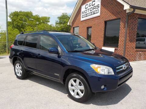2007 Toyota RAV4 for sale at C & C MOTORS in Chattanooga TN