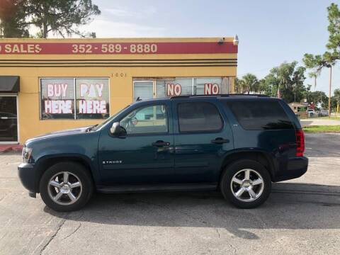 2007 Chevrolet Tahoe for sale at BSS AUTO SALES INC in Eustis FL
