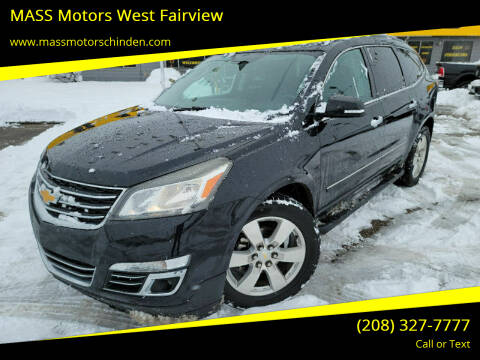 2013 Chevrolet Traverse for sale at M.A.S.S. Motors - West Fairview in Boise ID