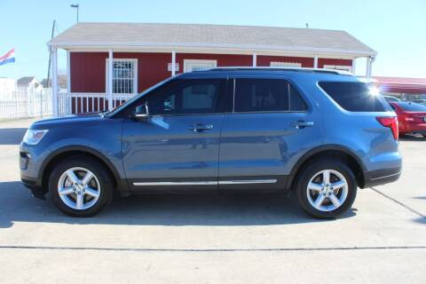 2018 Ford Explorer for sale at AMT AUTO SALES LLC in Houston TX