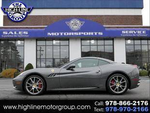 2012 Ferrari California for sale at Highline Group Motorsports in Lowell MA