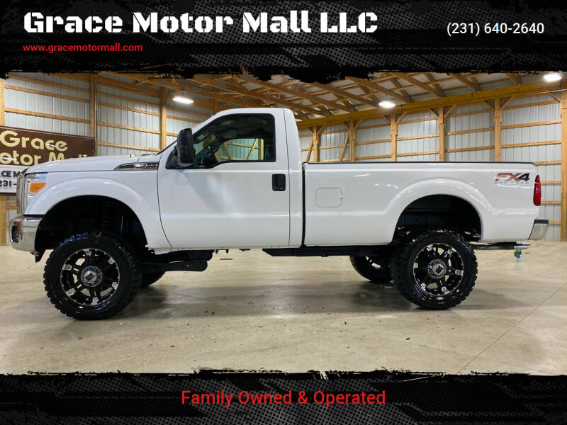 2012 Ford F-250 Super Duty for sale at Grace Motor Mall LLC in Traverse City MI