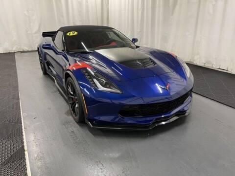 2019 Chevrolet Corvette for sale at Monster Motors in Michigan Center MI