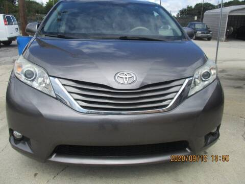 2011 Toyota Sienna for sale at Atlantic Motors in Chamblee GA