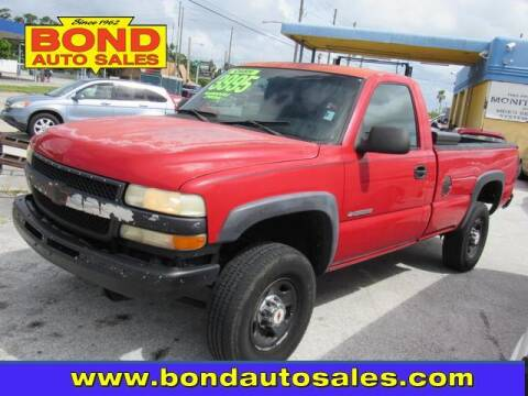2001 Chevrolet Silverado 2500HD for sale at Bond Auto Sales in St Petersburg FL