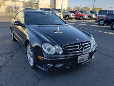 2008 Mercedes-Benz CLK for sale at Express Auto Sales in Sacramento CA