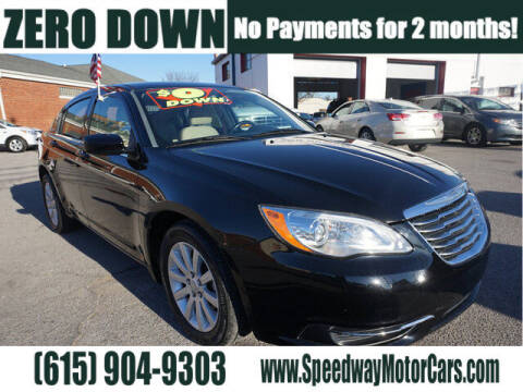 2013 Chrysler 200 for sale at Speedway Motors in Murfreesboro TN