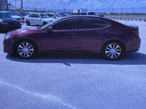 2016 Acura TLX for sale at Global Pre-Owned in Fayetteville GA