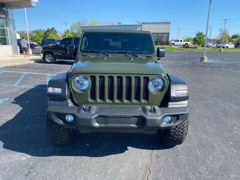 2021 Jeep Wrangler for sale at Davco Auto in Fort Wayne IN