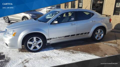 2012 Dodge Avenger for sale at CARTIVA in Stillwater MN