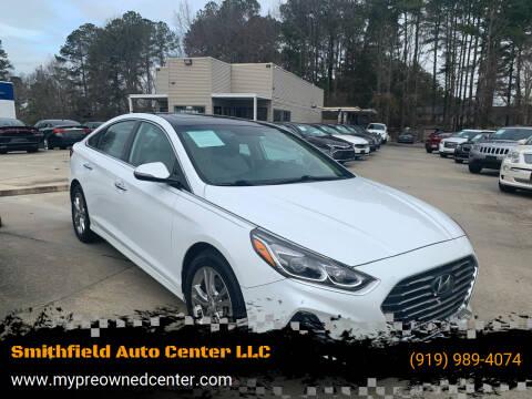 2018 Hyundai Sonata for sale at Smithfield Auto Center LLC in Smithfield NC