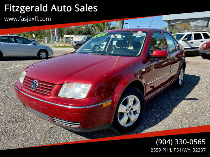 2004 Volkswagen Jetta for sale at Fitzgerald Auto Sales in Jacksonville FL