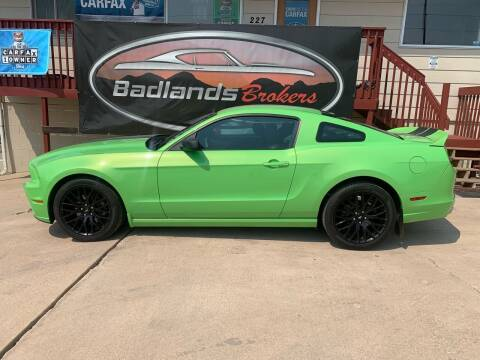 2014 Ford Mustang for sale at Badlands Brokers in Rapid City SD