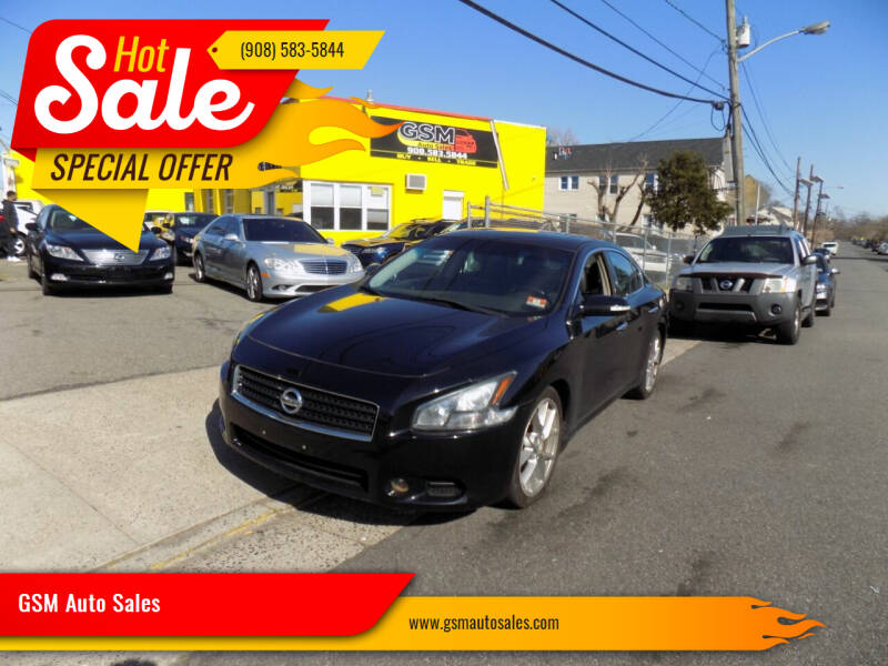 2011 Nissan Maxima for sale at GSM Auto Sales in Linden NJ