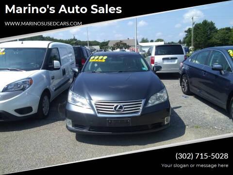 2011 Lexus ES 350 for sale at Marino's Auto Sales in Laurel DE