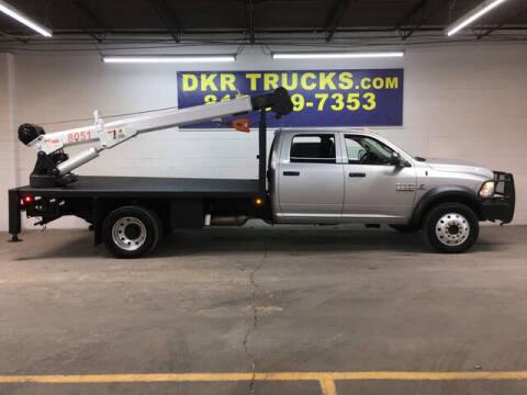 2016 RAM Ram Chassis 5500 for sale at DKR Trucks in Arlington TX