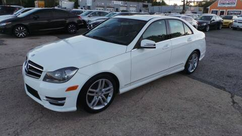 2014 Mercedes-Benz C-Class for sale at Unlimited Auto Sales in Upper Marlboro MD